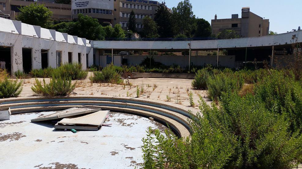 מרכז הספורט לפני החידוש // תכנון: V5 אדריכלים