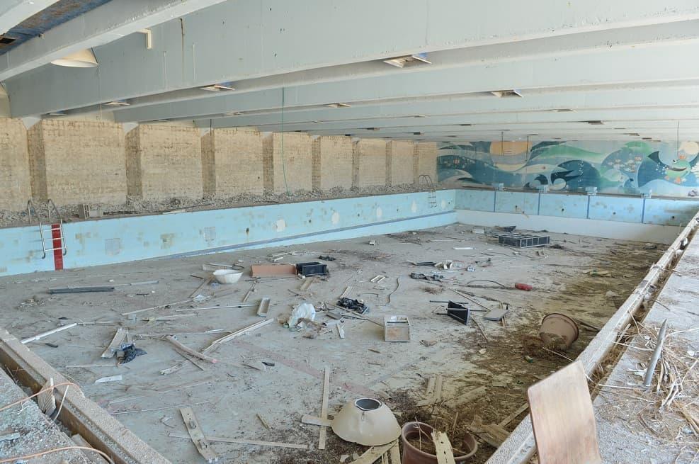 מרכז הספורט בנצרת עילית לפני חידושו // יחצ