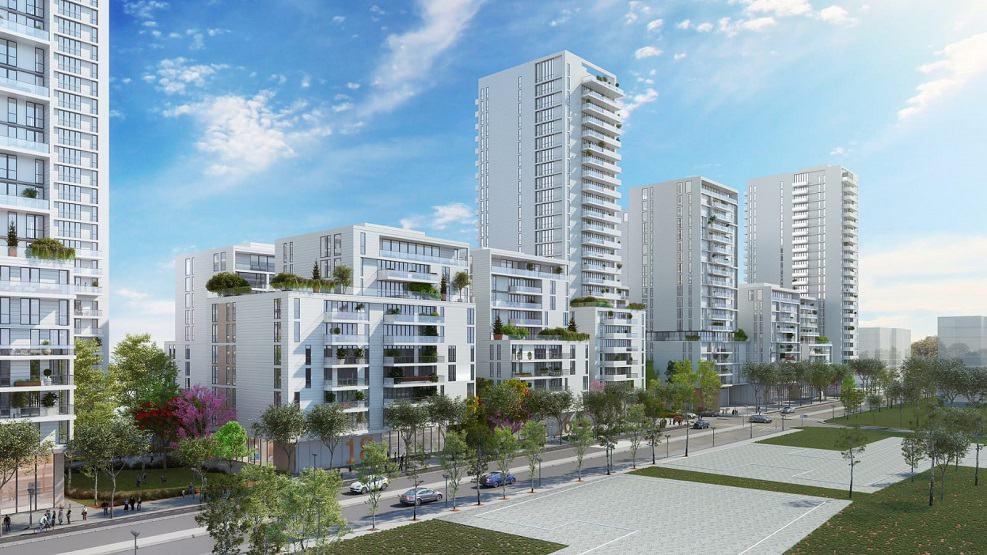 הפרויקט בשכונת קריית נורדאו בנתניה // תכנון: אלונים גורביץ' אדריכלים | הדמיות: טוטם הדמיות