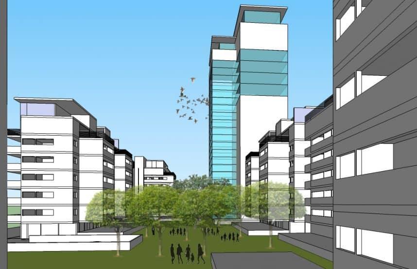 תכנון: מנהל הפרויקט אורי הורוביץ ועורך התכנית אדריכל ברוך ברוך