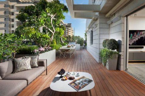 עיצוב גגות // תכנון: מיקי כתר ומירב ברמן צילום: אלעד גונן