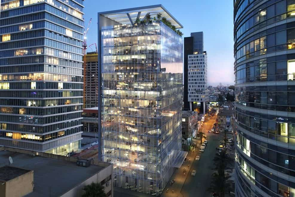 Studio Tower // הדמיה: 3dvision