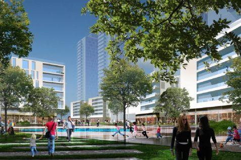 הדמיית הפרויקט // משה צור אדריכלים - בוני ערים בעמ