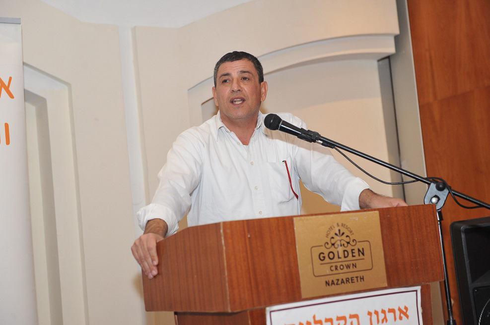 """אליאב בן שמעון מנכ""""ל הארגון // צילום: יאיר מוחה"""