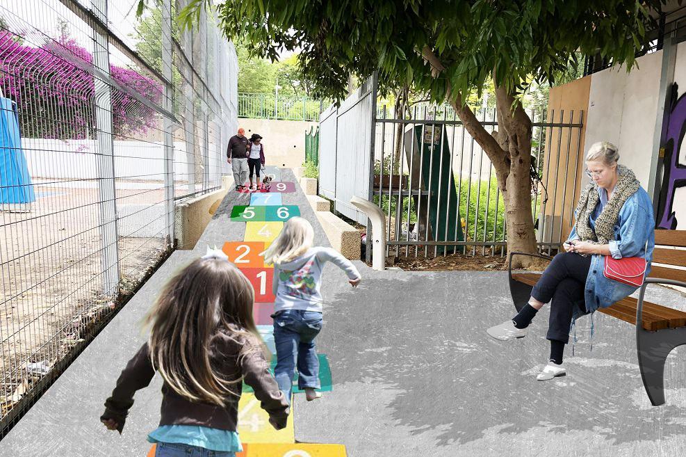 התחדשות עירונית בגסי כהן הדמיה: נחלת הכלל