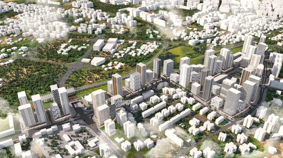 הדמיית התוכנית // משרד HQ ארכיטקטים