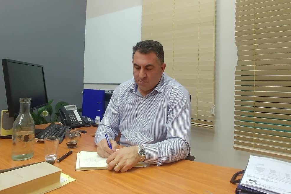 ראש המועצה גבי גאון // צילום: רונן דמארי