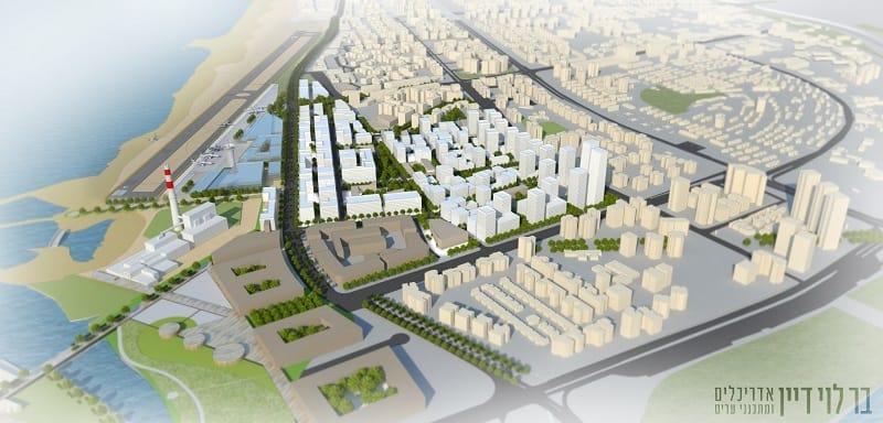 הדמיה תכנית חלופית שדה דב // באדיבות דוברות עיריית תל אביב