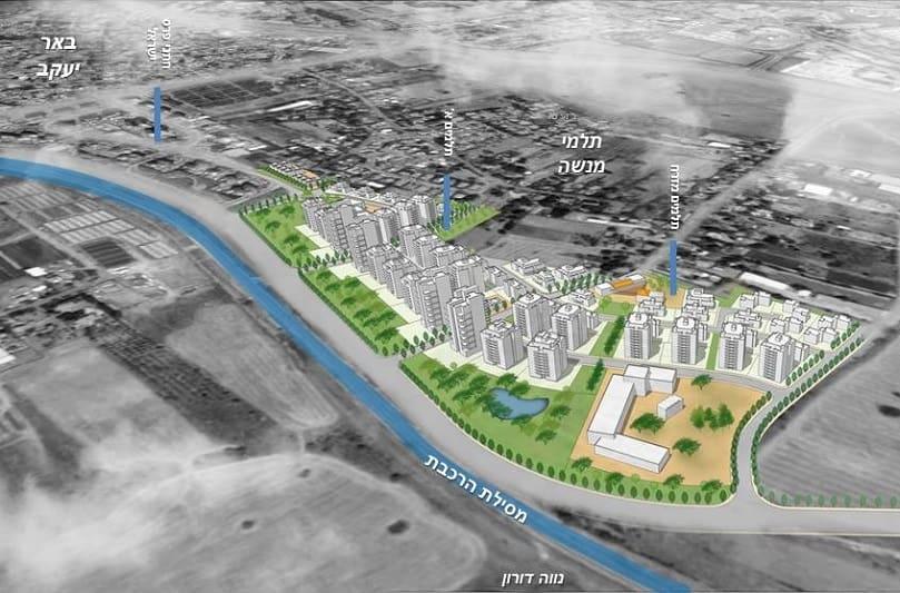 תכנון: קורין אדריכלים באדיבות רשות מקרקעי ישראל