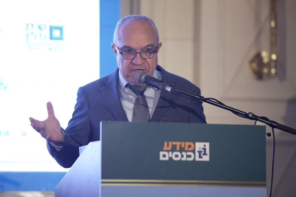 יהודה כתב בוועידה הארצית להתחדשות עירונית // צילום: דרור סיתהכל