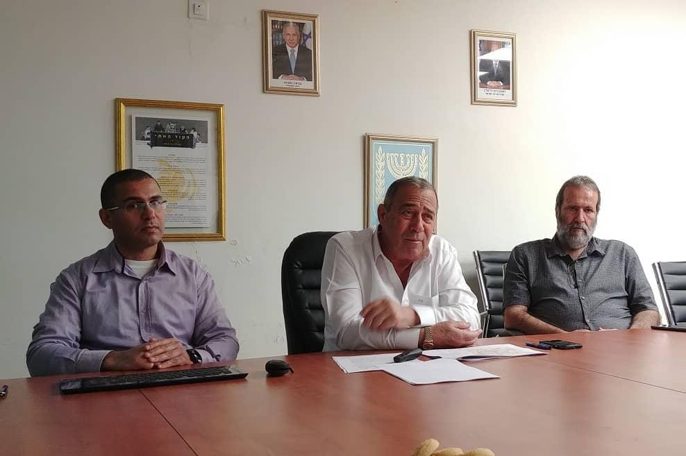 מסיבת עיתונאים // צילום: רונן דמארי