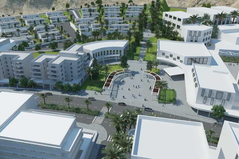 הדמיית שכונת מגורים חדשה באילת // שוורץ-קרט אדריכלים