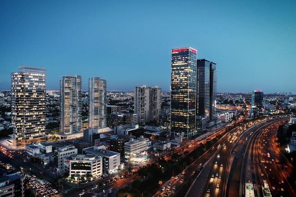 מתחם הסוללים בתל אביב של קבוצת מבנה // תכנון: יסקי מור סיון
