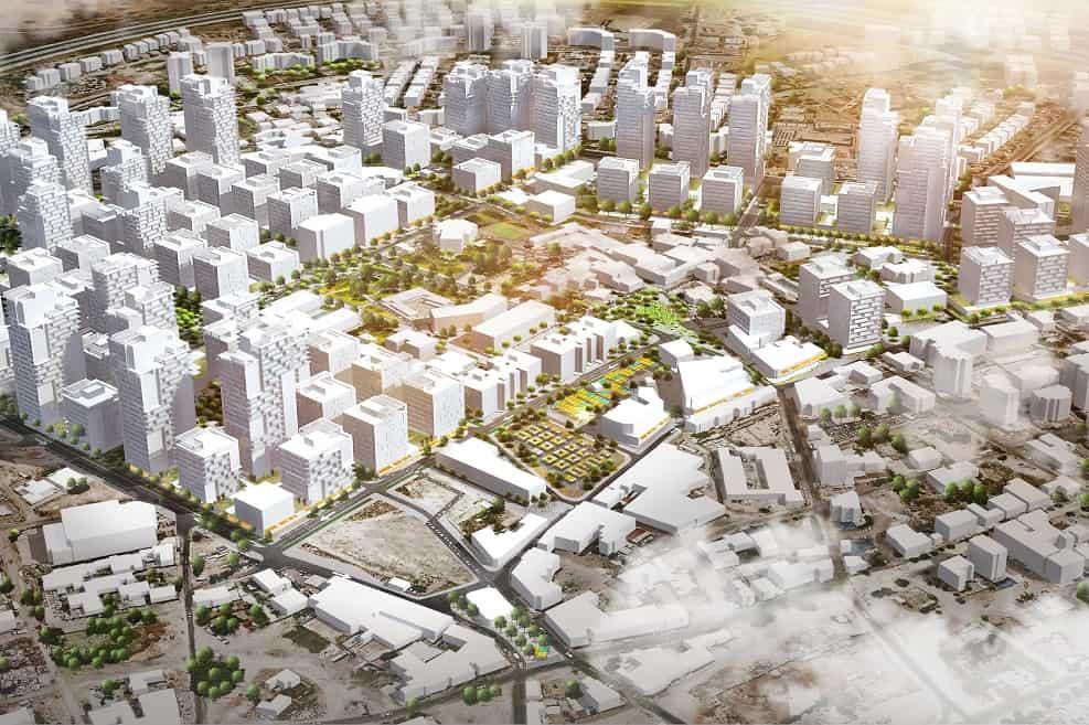 תוכנית ההתחדשות העירונית בלוד // תכנון: דרמן ורבקל אדריכלות
