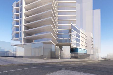 הדמיית הפרויקט // תכנון: אלי רכס אדריכלים