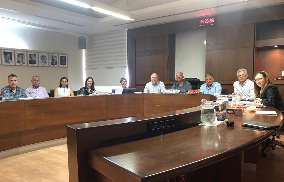 חיים אביטן במפגש עם ראש העיר // דוברות העירייה