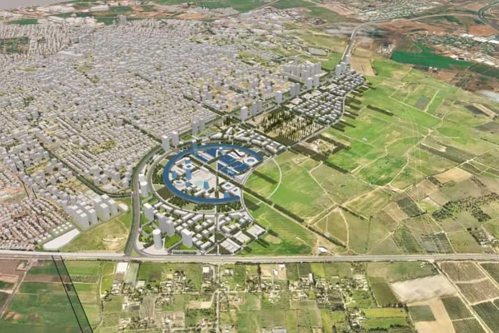 תוכנית מזרח העיר // באדיבות דוברות עיריית רחובות