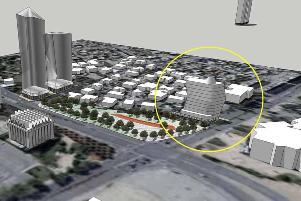 תכנית לבית מפלגת העבודה הישן בבאר שבע בתכנון מרש אדריכלים // מרש אדריכלים