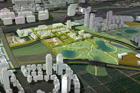 תוכנית בין ערים הרצליה // נעמה מליס אדריכלים