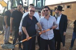 גלעד יפרח מנכל גלעד מאי וראש עיריית נתיבות יחיאל זוהר // יחצ