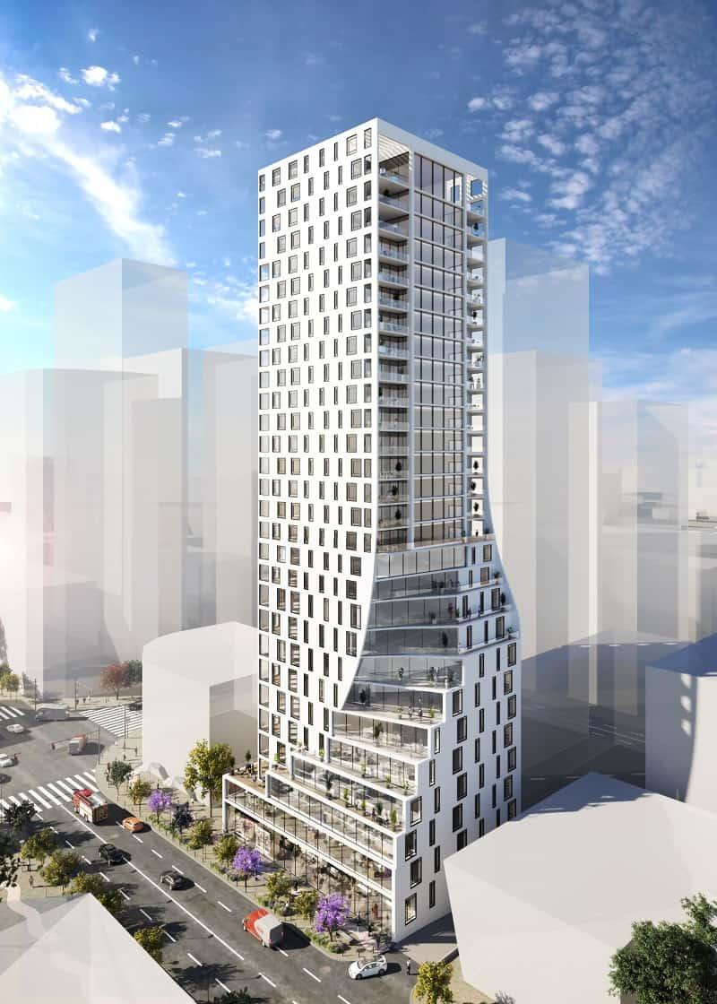 הדמיית מגדל השנהב בבת ים // באדיבות CITYBEE אדריכלים