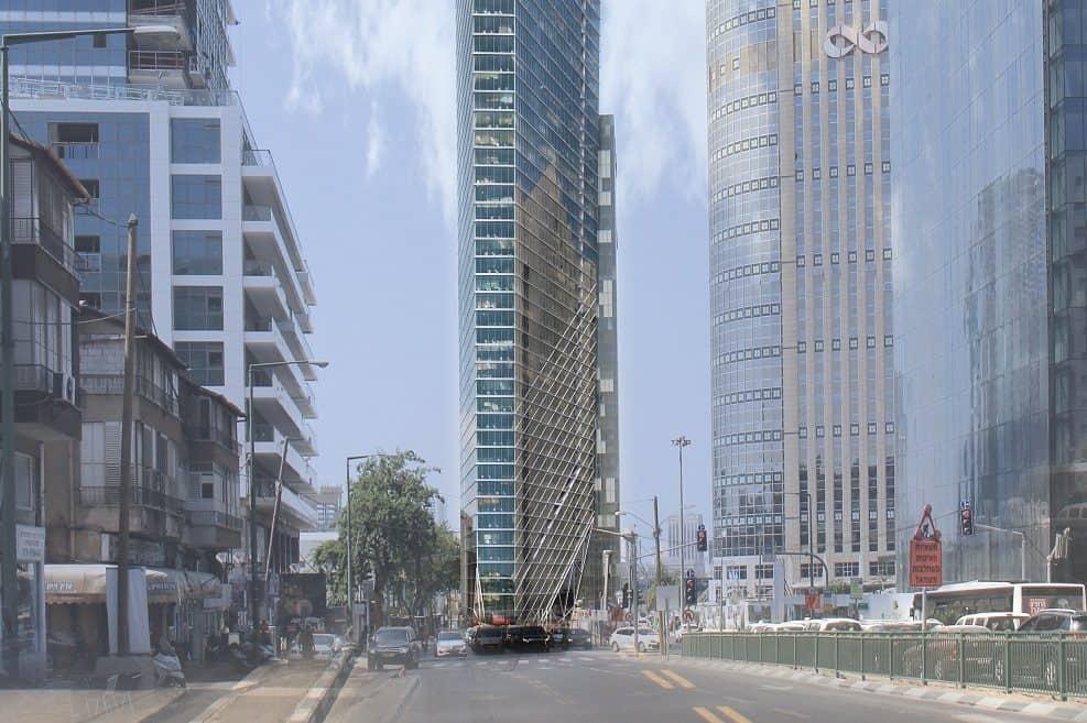 מגדל בס תכנון האדריכל גיא מילוסלבסקי // viewpoint