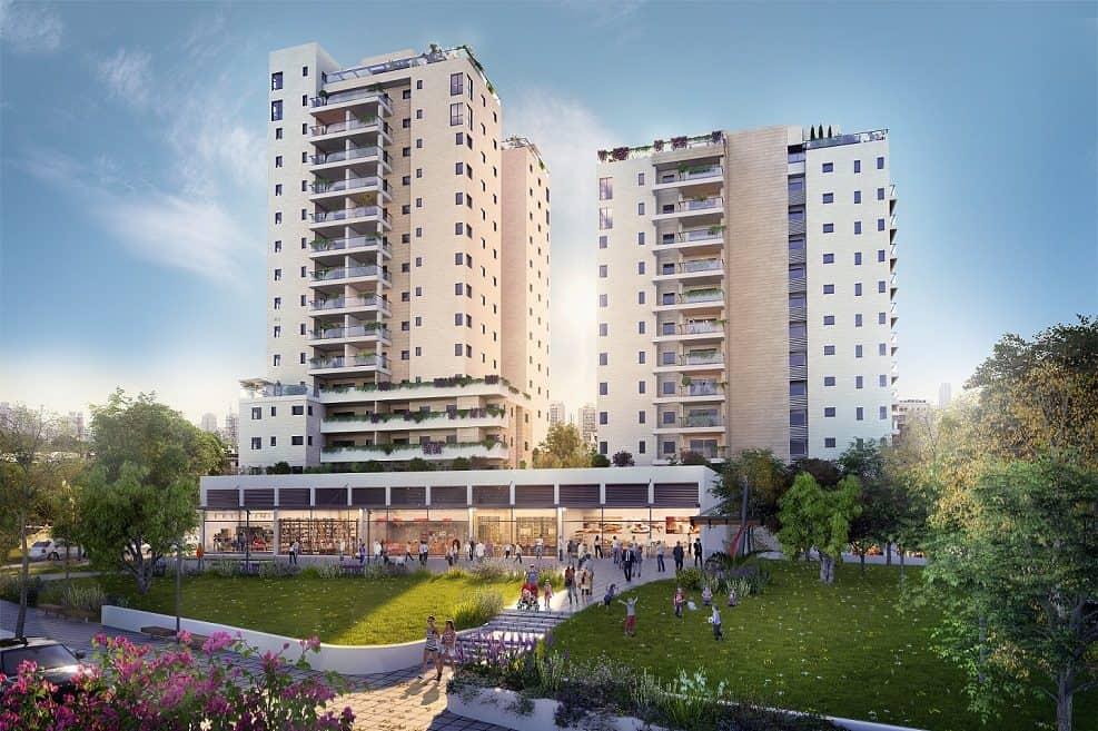 פרויקט view של יוסי אברהמי בדרום תל אביב