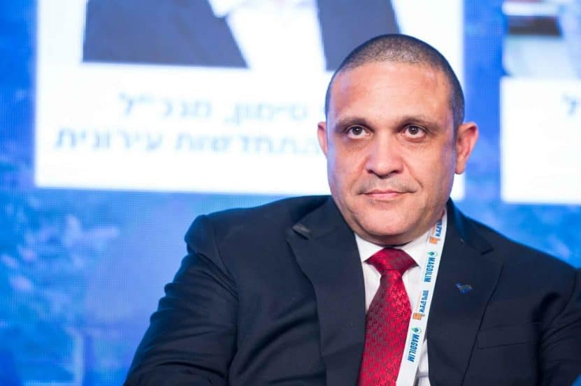 """מסילתי בכנס """"ישראל מתחדשת"""" // צילום: דרור סיתהכל"""
