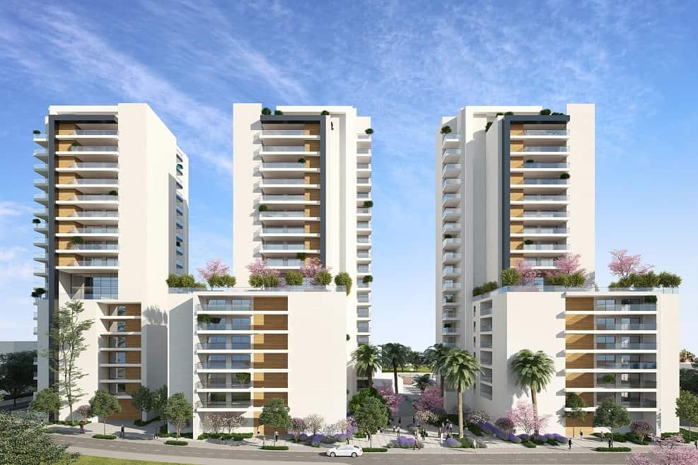 הדמיית הפרויקט // סטודיו אנדו , כנען שנהב אדריכלים