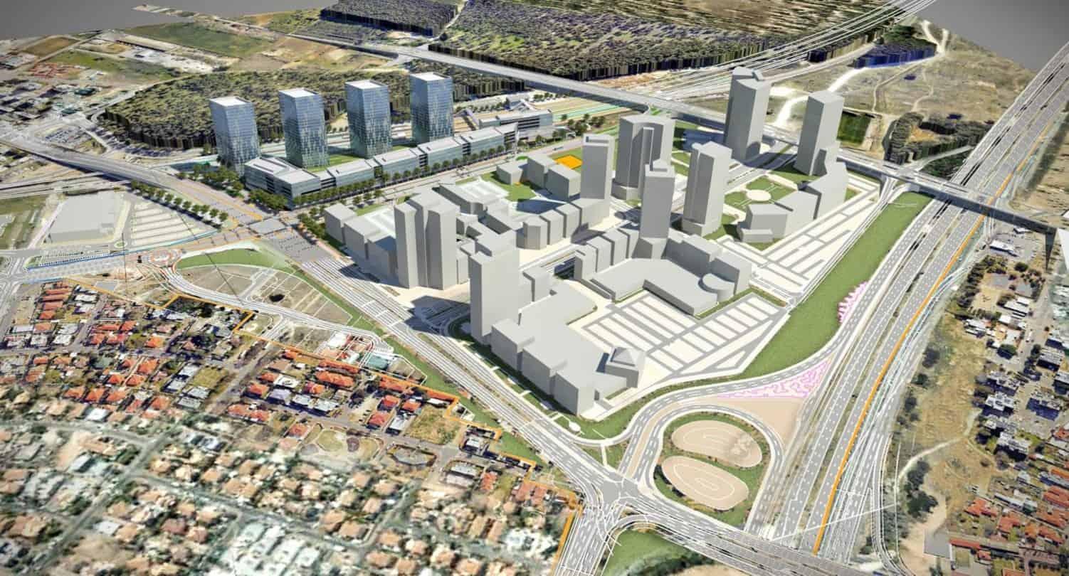 הדמיית הפרויקט באדיבות עיריית חדרה