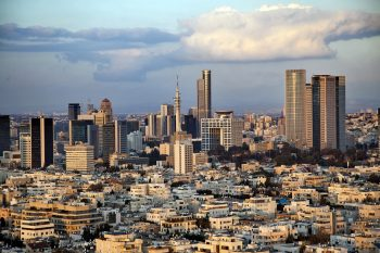 Downtown Tel-Aviv Skyline // Depositphotos