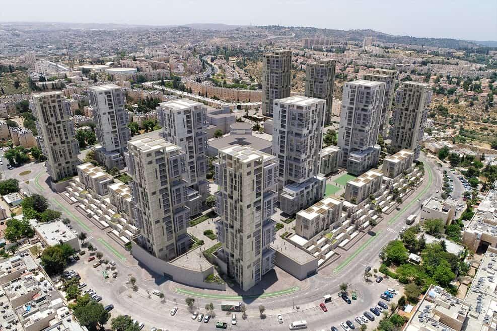 הדמיית שכונת גילה בירושלים // איי אל וויופוינט