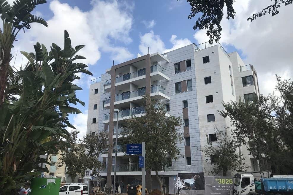 פרויקט התחדשות עירונית ברחוב רמת הגולן בחולון // יחצ