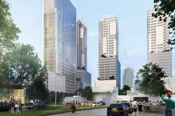 קבוצת משולם לוינשטין- מתחם התחנה המרכזית // הדמיה: משרד אדריכלים דני קייזר