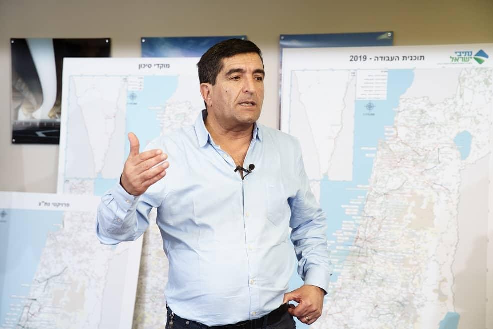 ניסים פרץ מנכ''ל חברת נתיבי ישראל // צילום: אנצ'ו גוש