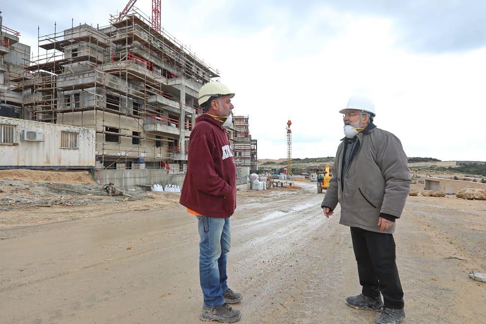 פרויקט נתיב בשדרה ברמת בית שמש ד' של קבוצת נתיב פיתוח // צילום: יעקב לדרמן