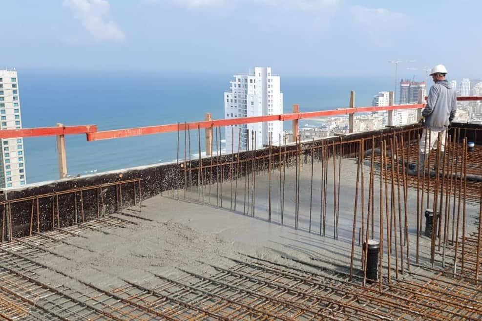 מגדל הצוק בנתניה של קבוצת לוינשטין // יחצ