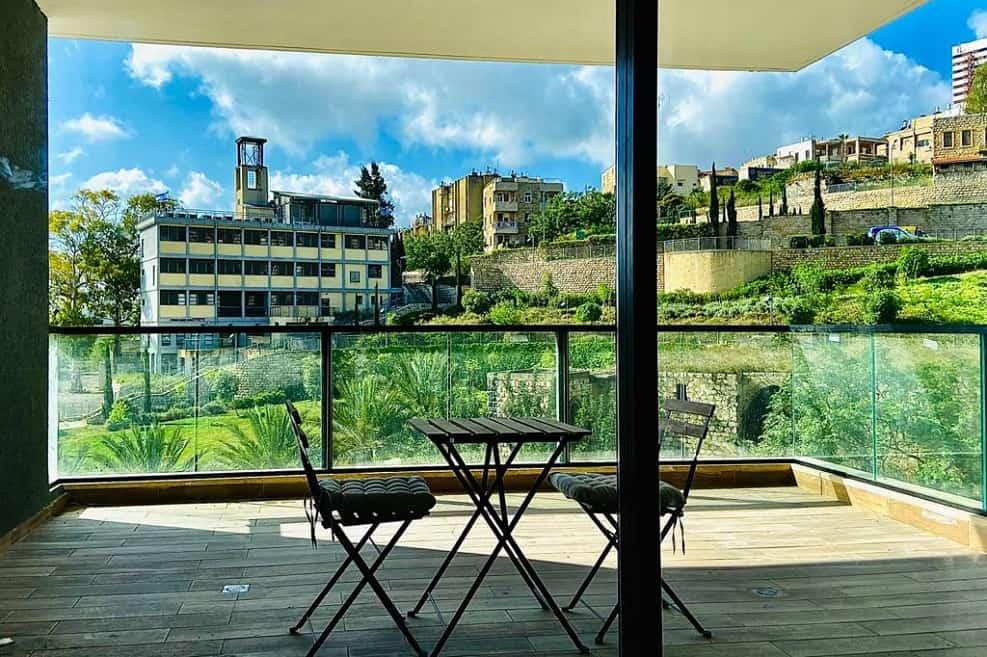 נוף ממרפסת בפרויקט הרובע של חברת גולדן ארט בחיפה // צילום: גולדן ארט