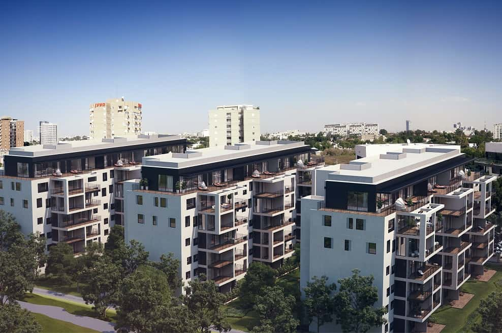 פרויקט פיכמן 11-15 תל אביב // באדיבות החברה לחיזוק מבנים