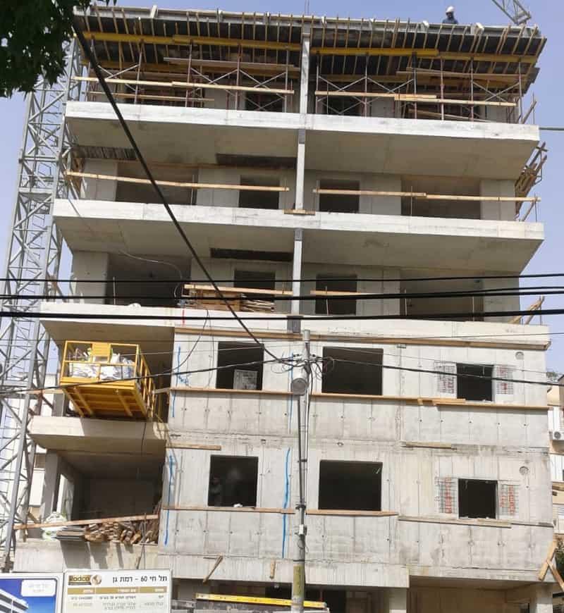 פרויקט תל חי ברמת גן של חברת ראדקו התחדשות עירונית // יחצ