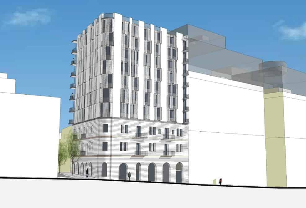 הדמיית תכנית החבצלת 6 // אדריכלית מיכל כהן מגן.
