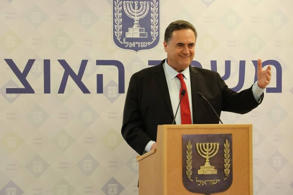 """שר האוצר, ישראל כ""""ץ // צילום: דוברות האוצר"""