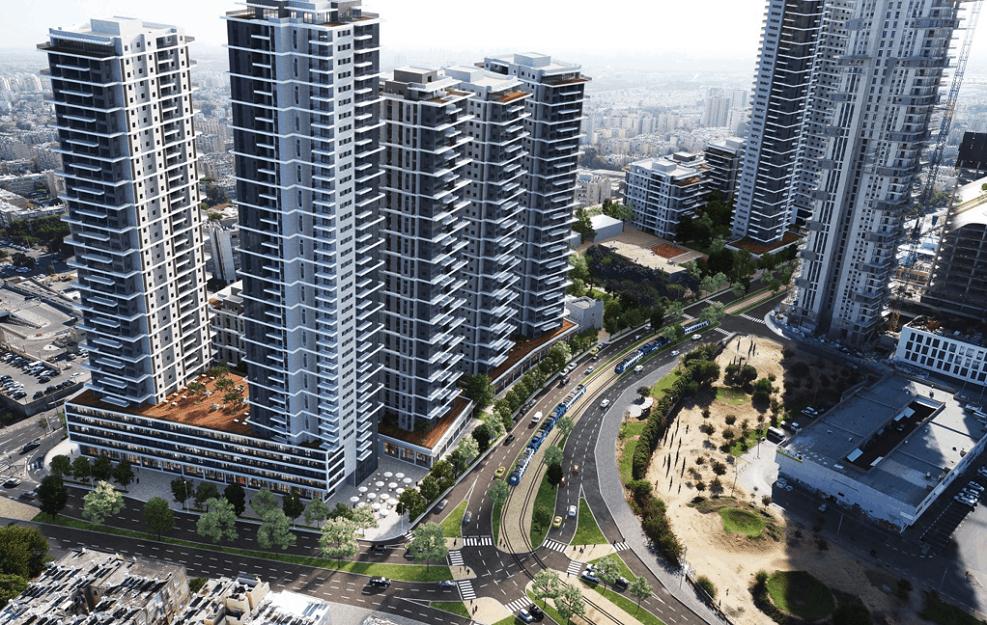 הדמיית הפרויקט // משרד צפור אדריכלים ומתכנני ערים