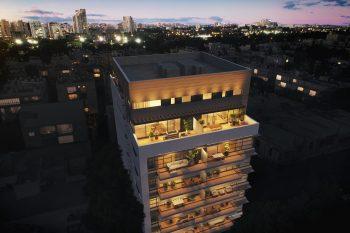 פרויקט יהודה המכבי 49 תל אביב של מטרופוליס // הדמייה: 3DVISION