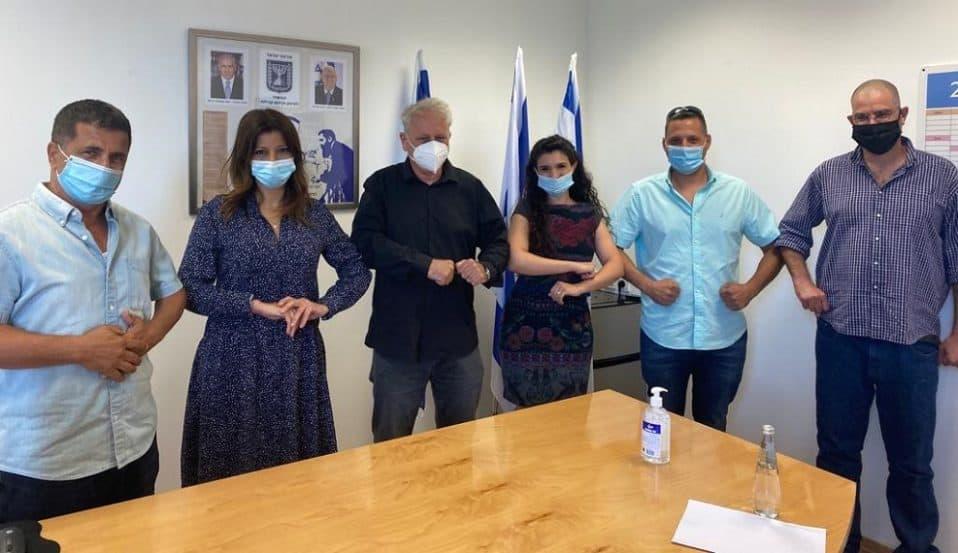 שיתוף פעולה של המשרד לחיזוק וקידום קהילתי והתאחדות קבלני השיפוצים בישראל צילום דוברות המשרד לחיזוק וקידום קהילתי // באדיבות המשרד