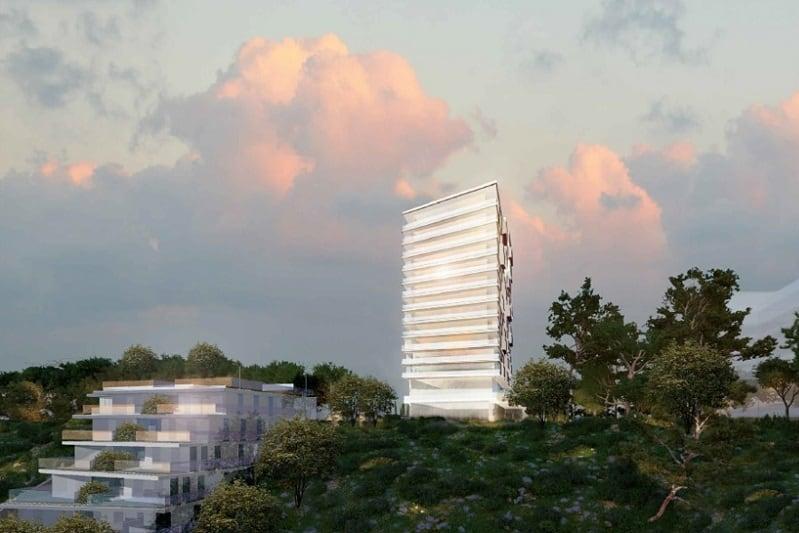 הדמיה מתחם מרכוס חיפה // משרד משה צור אדריכלים ובוני ערים