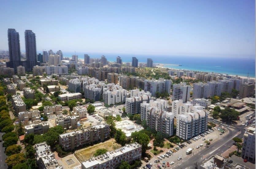 מבט מלמעלה של אשדוד // צילום : קבוצת יסוד