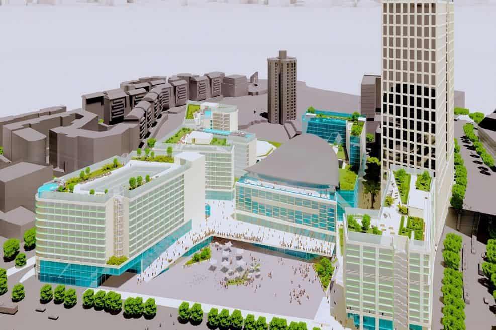 פרויקט בייני האומה 2030 // צילום: POPULOUS גולדשמידט ארדיטי בן נעים אדריכלים