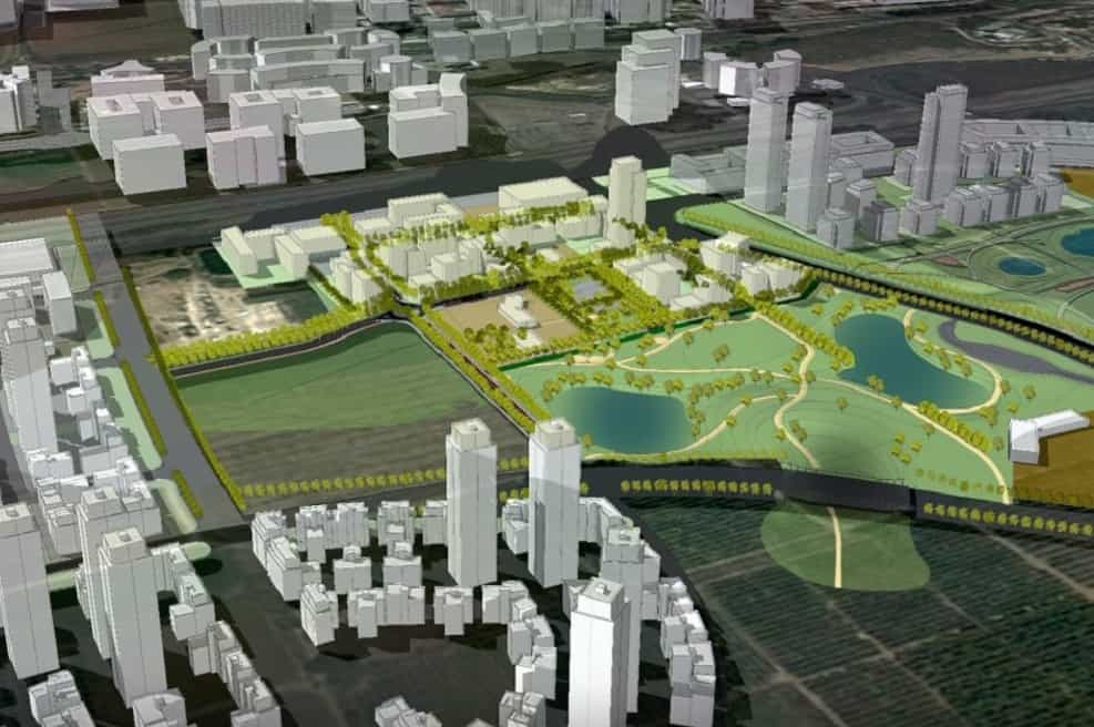 הדמיה של תוכנית 'הרצליה בין ערים' // קרדיט: מליס אדריכלים.