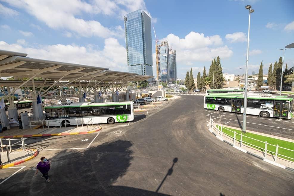 """מסוף אבנת בפ""""ת // קרדיט: באדיבות עיריית פתח תקווה"""